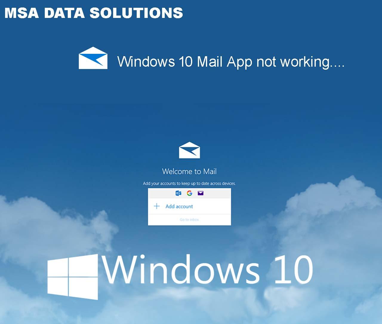 Fix Win10 Mail App